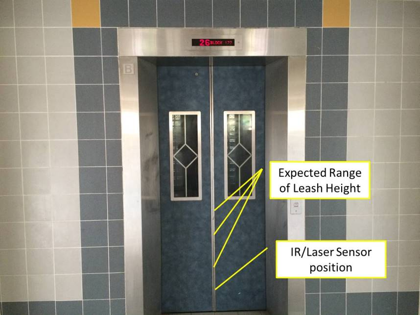 HDB Lift Sensor Height Expectations