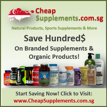 Cheap Supplements Online Store Singapore!
