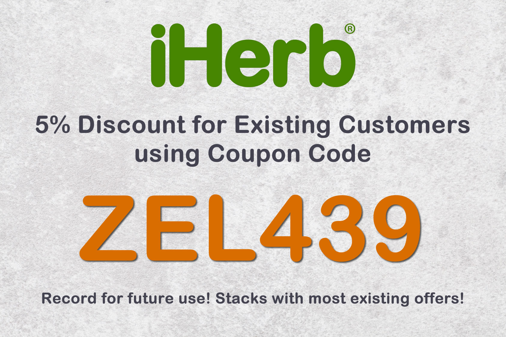 Iherb discount coupons