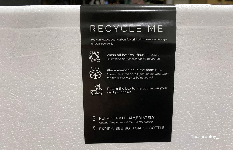 Craft Tea Fox Review Recycling